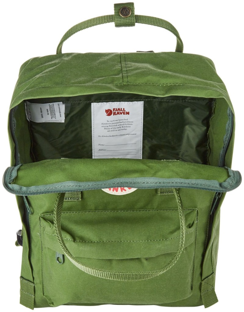 fjallraven kanken photo insert review