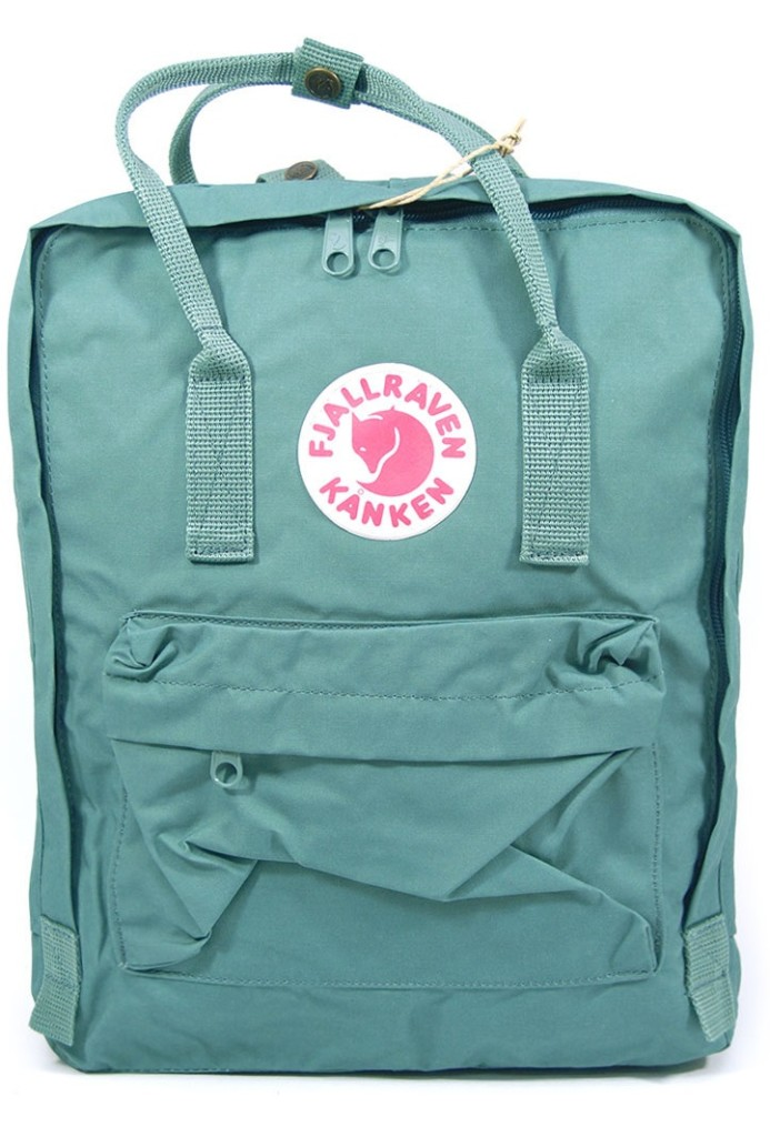 Frost Green Kanken The Classic Fjallraven Backpack